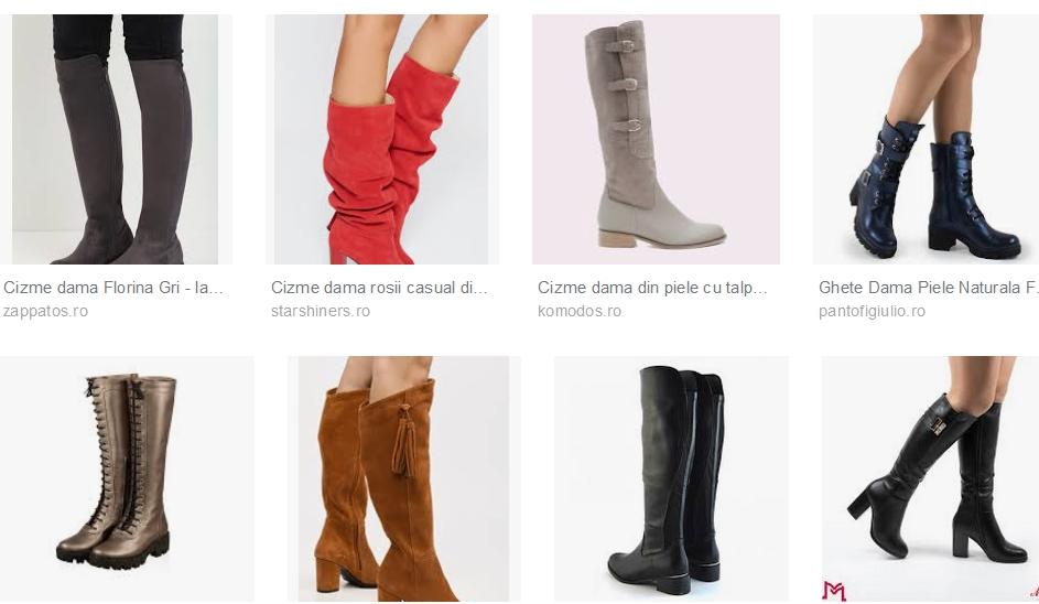 Cizme Dama – cizmele sunt obiecte vestimentare extrem