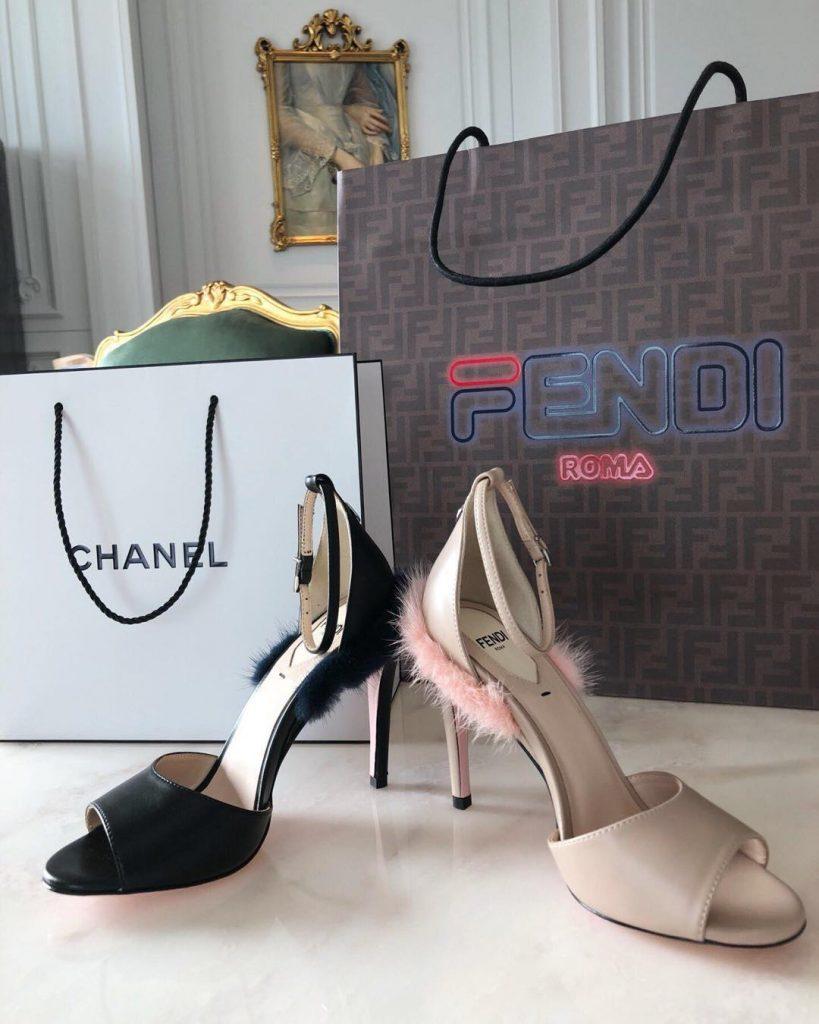 pantofi cu toc sandale cadou
